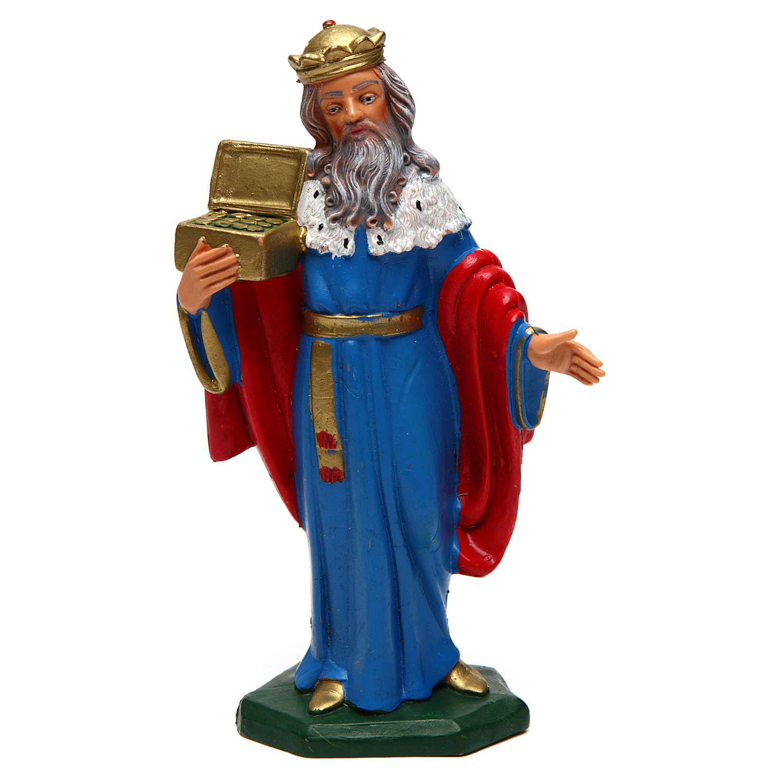 Re Magio Melchiorre di 16 cm presepe 3