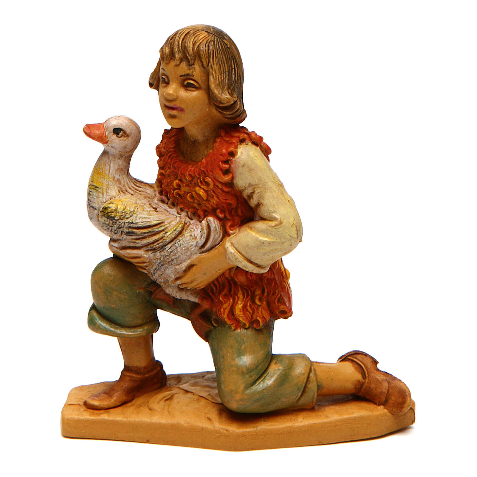 Child with a Duck 10 cm Nativity 3
