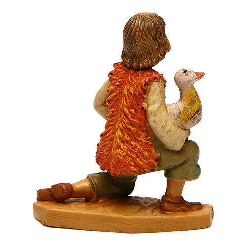 Child with a Duck 10 cm Nativity 2