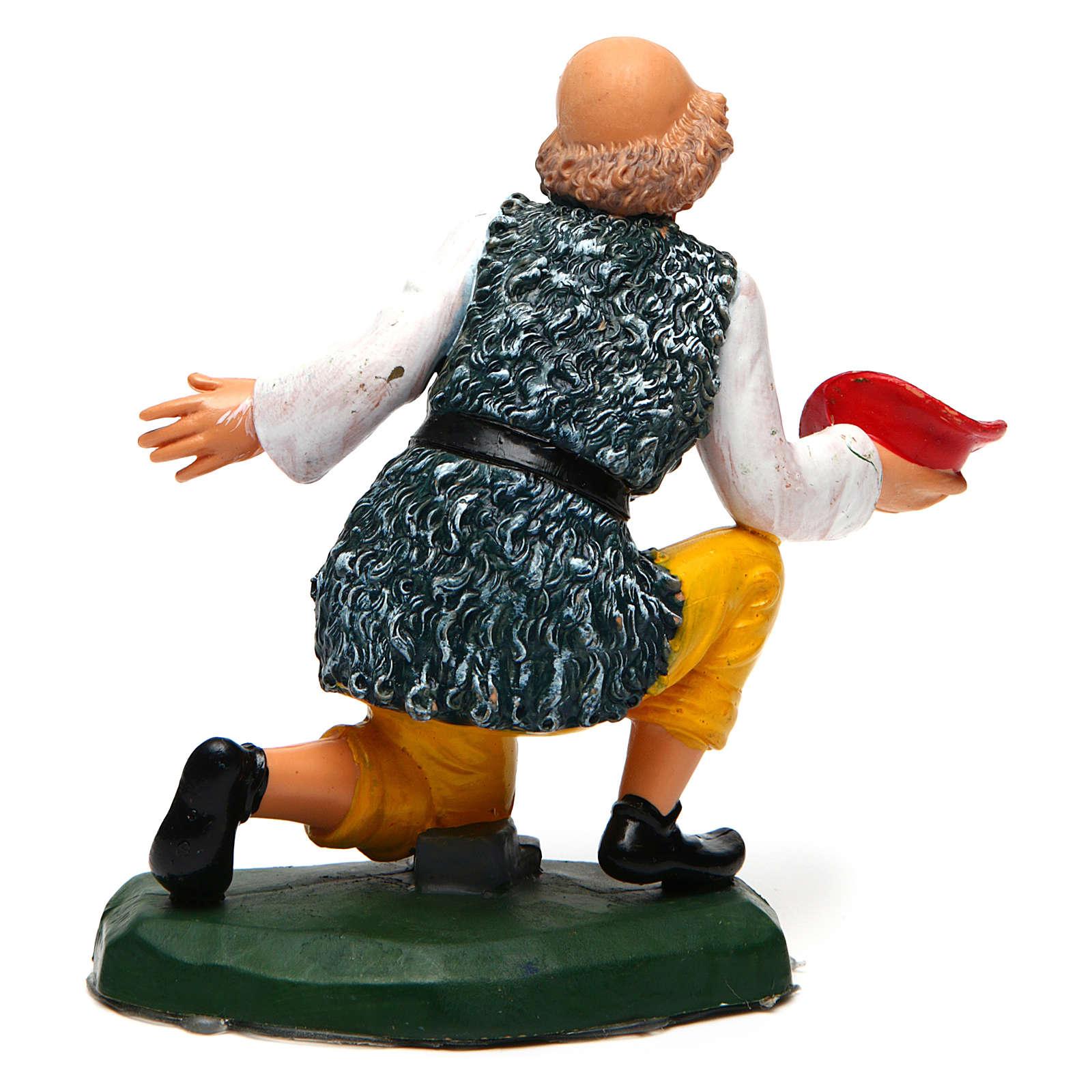 Old Man Begging for a 16 cm Nativity 3