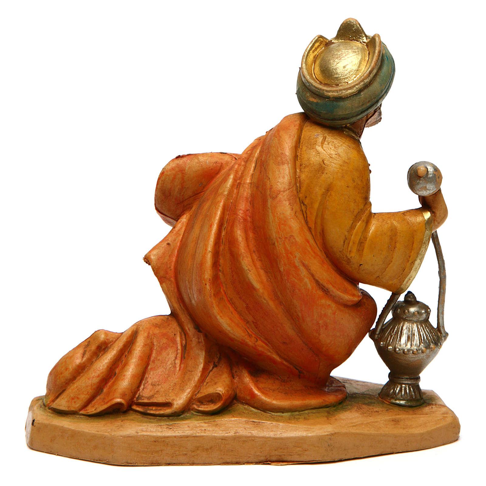 Re Magio Gaspare per presepe di 16 cm  3