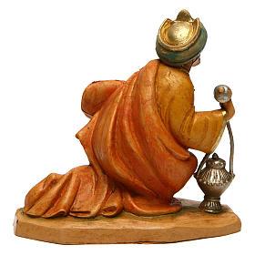 Re Magio Gaspare per presepe di 16 cm  s2