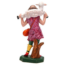 Girl Carrying Sheep for 16 cm Nativity s2