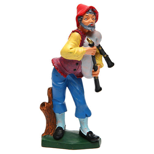 Elder Bagpiper 16 cm Nativity 1