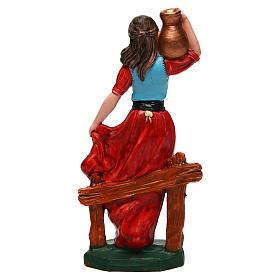 Donna con vaso di 16 cm presepe s2