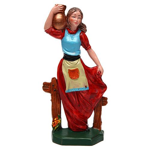 Donna con vaso di 16 cm presepe 1