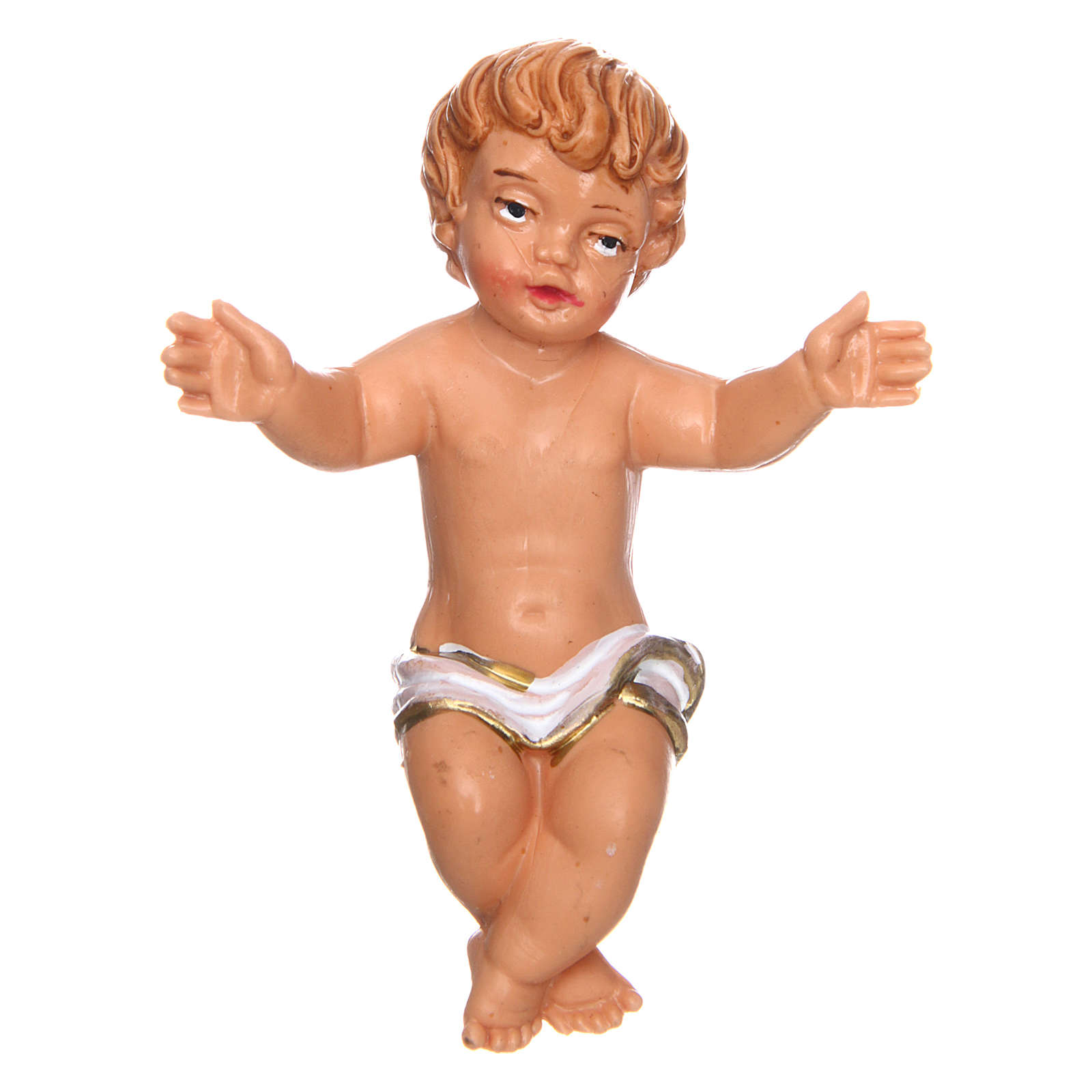 Gesù bambino presepe di 7 cm 3