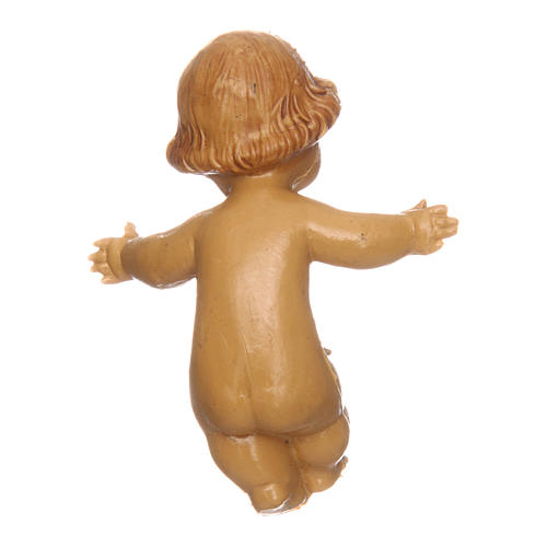 Bambinello per presepe 4 cm 2