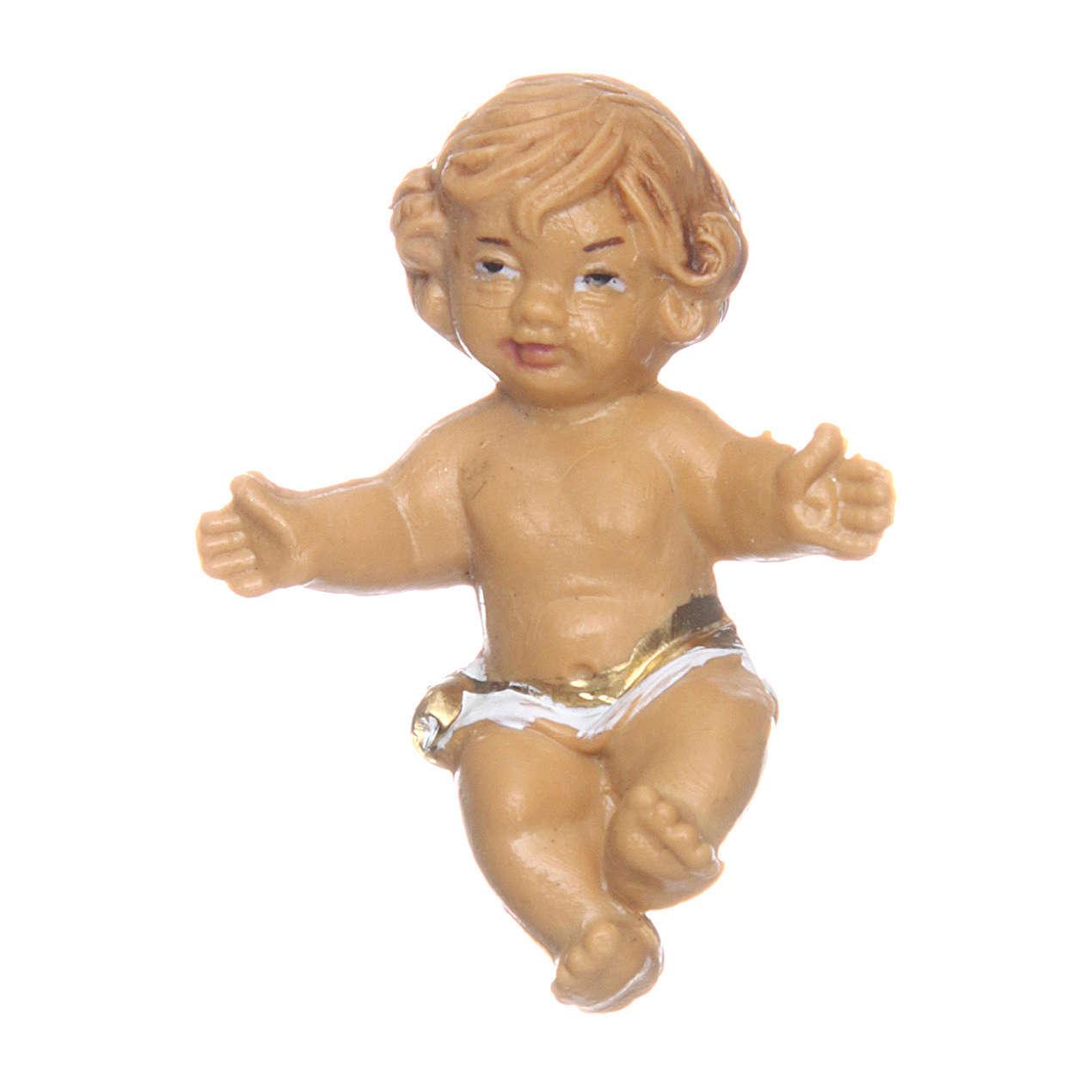 Niño Jesús para belén 3 cm de altura media 3