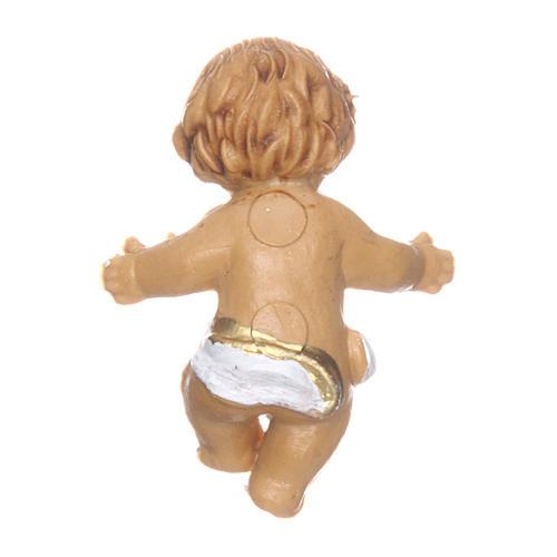 Enfant Jésus pour crèche 3 cm 2