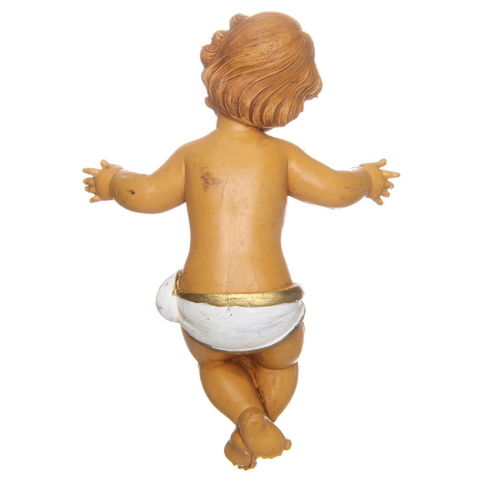 Gesù Bambino per presepe 11 cm 3