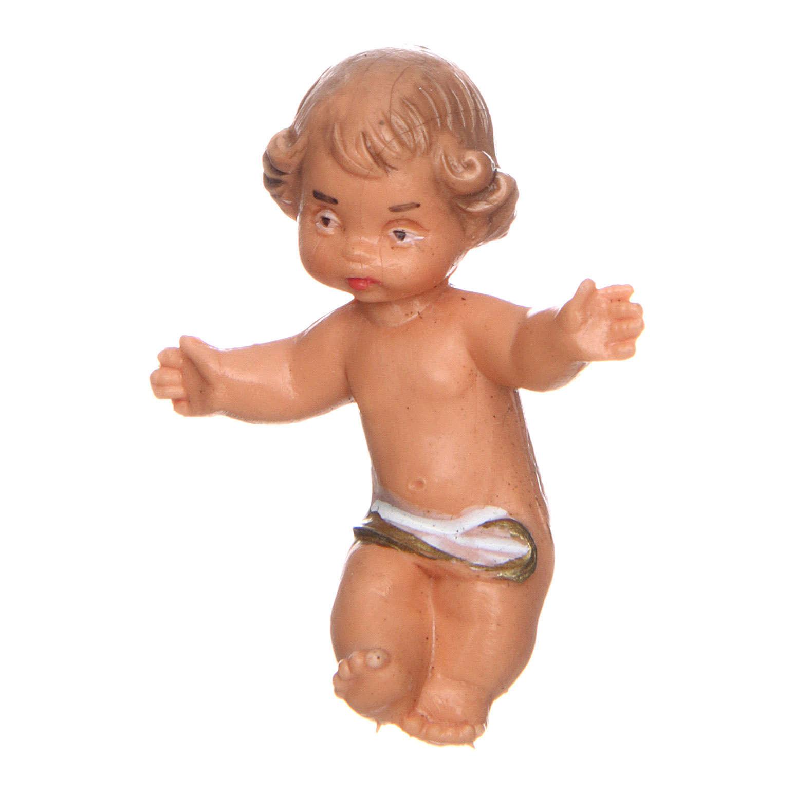 Gesù Bambino per presepe 4 cm 3