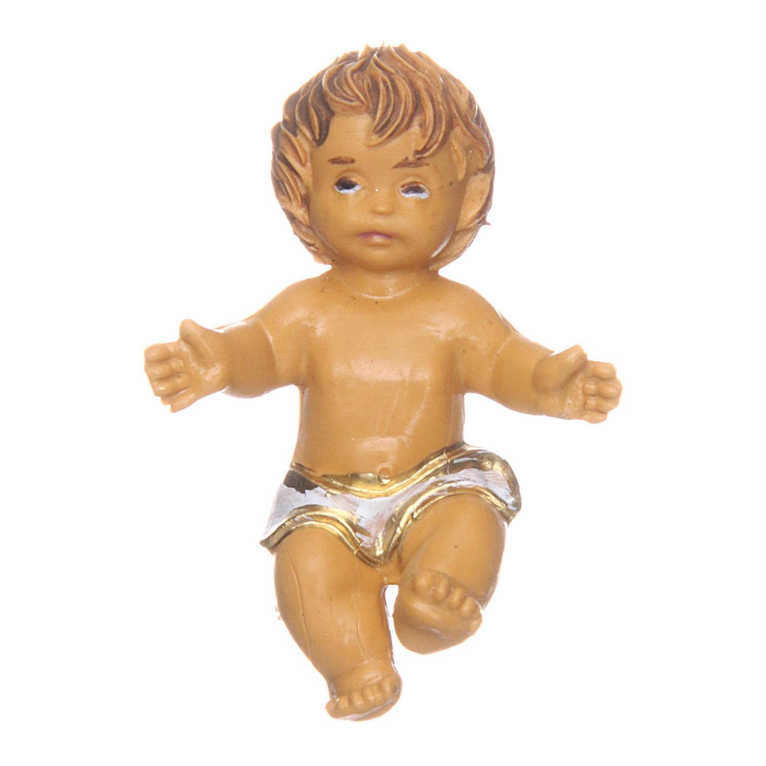 Enfant Jésus pour crèche 3,5 cm 3
