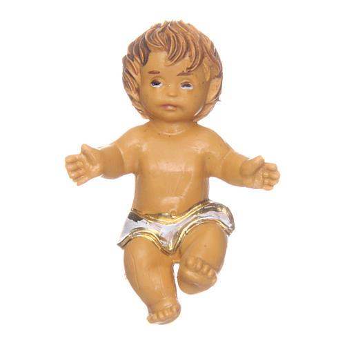 Enfant Jésus pour crèche 3,5 cm 1