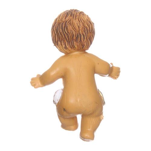 Enfant Jésus pour crèche 3,5 cm 2