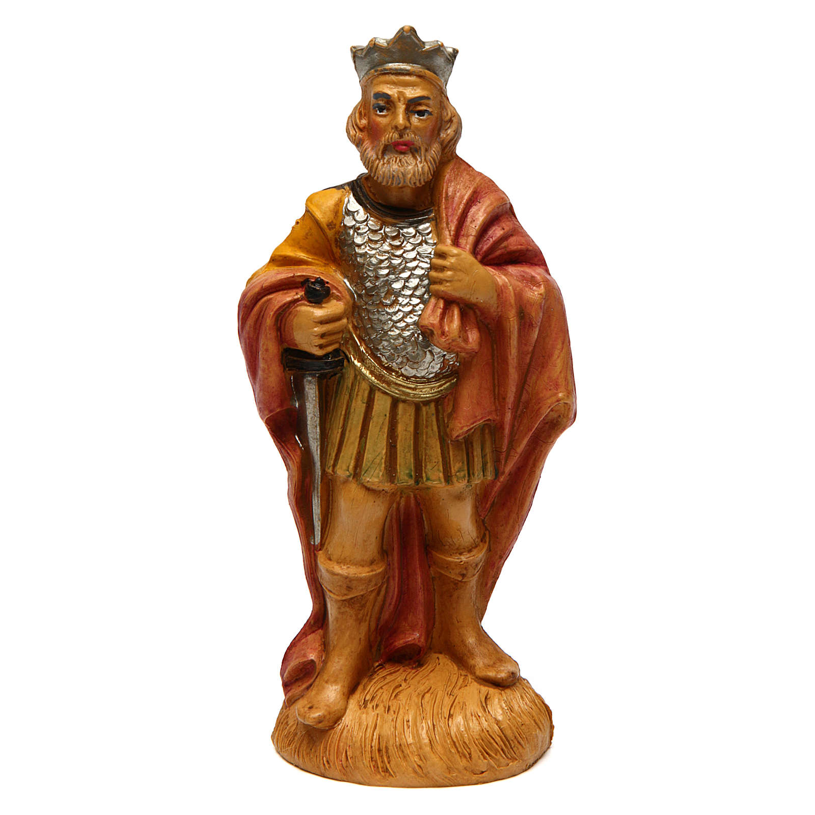 Man Soldier with Cape for 12 cm Nativity 3