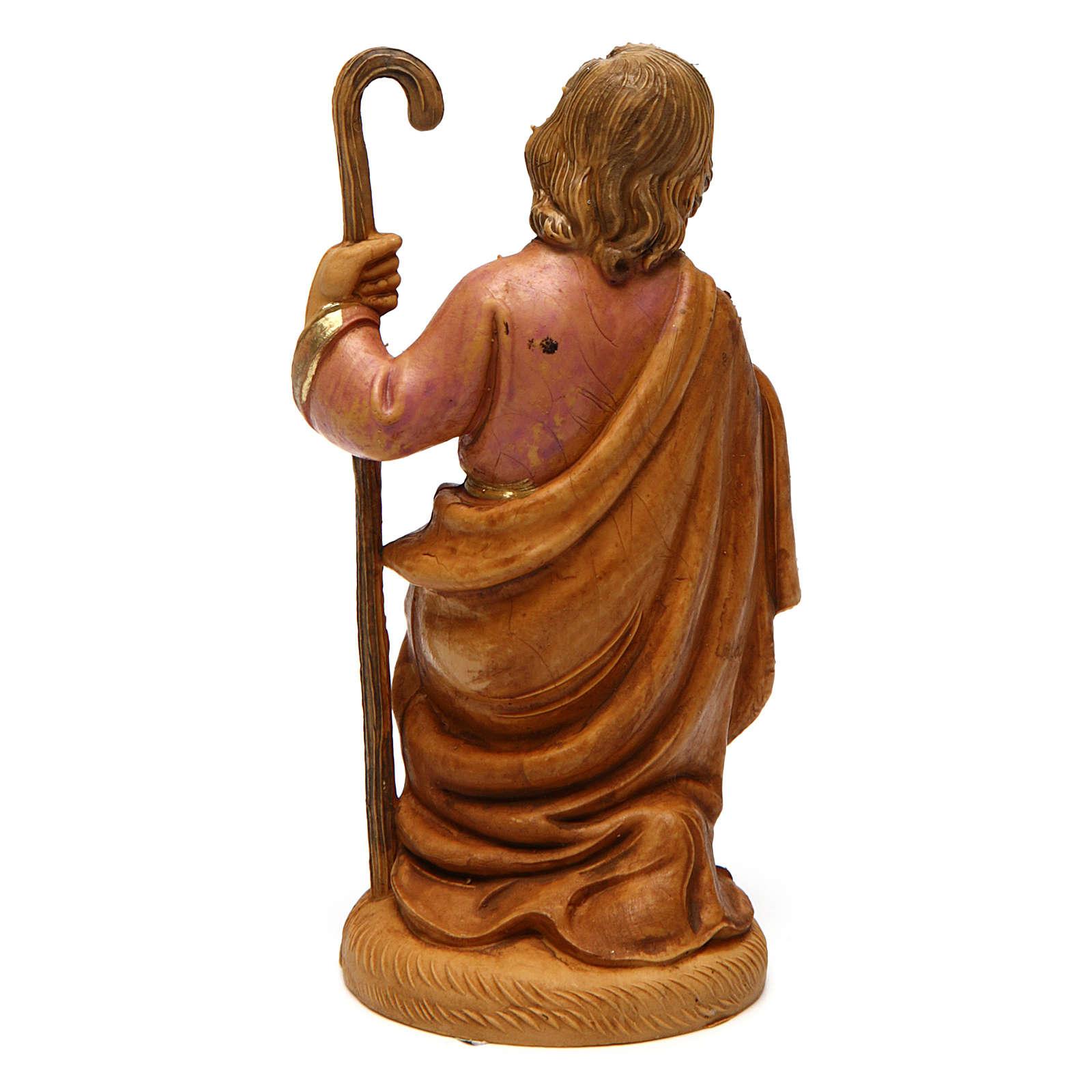 Heiliger Josef 12 cm PVC Krippenfigur 3