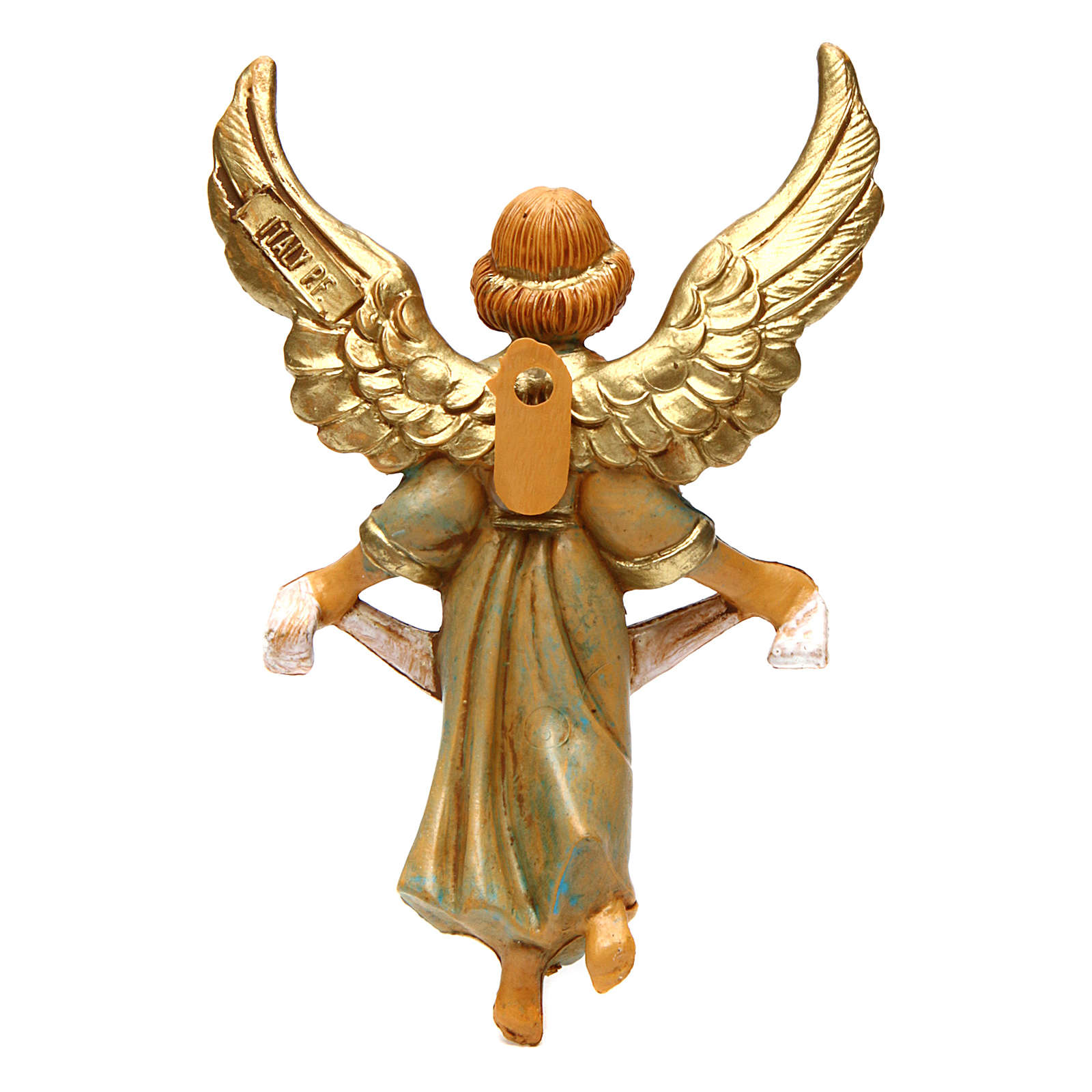 Ángel gloria 12 cm de altura media belén 3