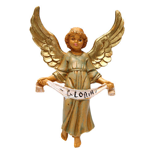 Ángel gloria 12 cm de altura media belén 1