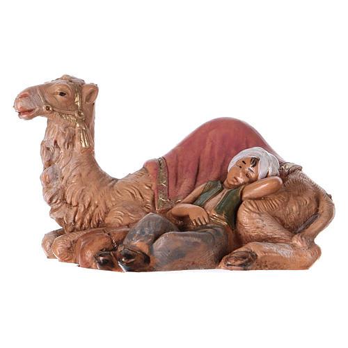 Garçon avec chameau 6,5 cm Fontanini 1