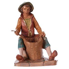 Presépio Fontanini: Homem entrançando cestas 12 cm Fontanini