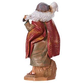Pastore con pecora sulle spalle 12 cm Fontanini s2