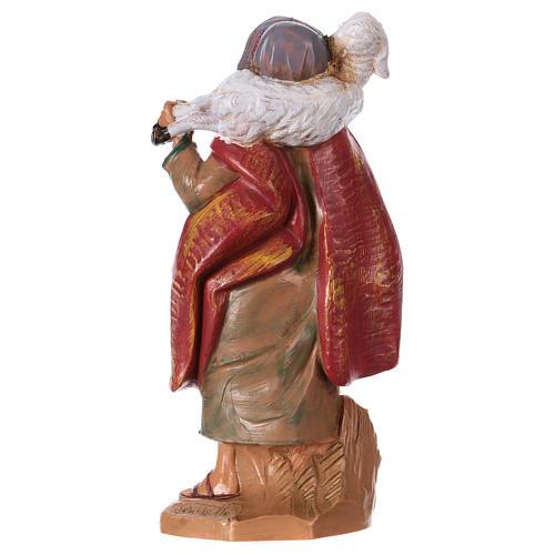 Pastore con pecora sulle spalle 12 cm Fontanini 2