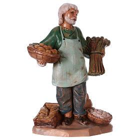 Presépio Fontanini: Vendedor de legumes 12 cm Fontanini