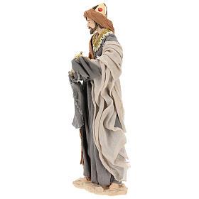 Reyes Magos h 35 cm resina estilo Shabby Chic s3