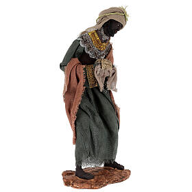 Reyes Magos h 35 cm resina estilo Shabby Chic s5