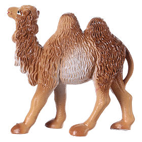 Camel in standing position for 6 cm Nativity scene, PVC s2