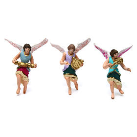 Belén h 7 cm set de 11 piezas decoradas s3