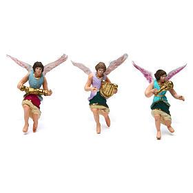 Presépio conjunto 11 peças decoradas altura média 7 cm s3