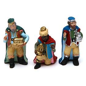 Nativity Scene 7 cm, set of 11 figurines hand painted s4