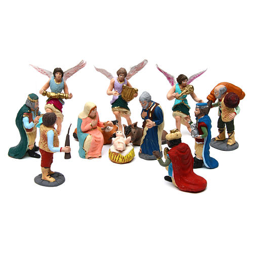 Nativity Scene 7 cm, set of 11 figurines hand painted 1