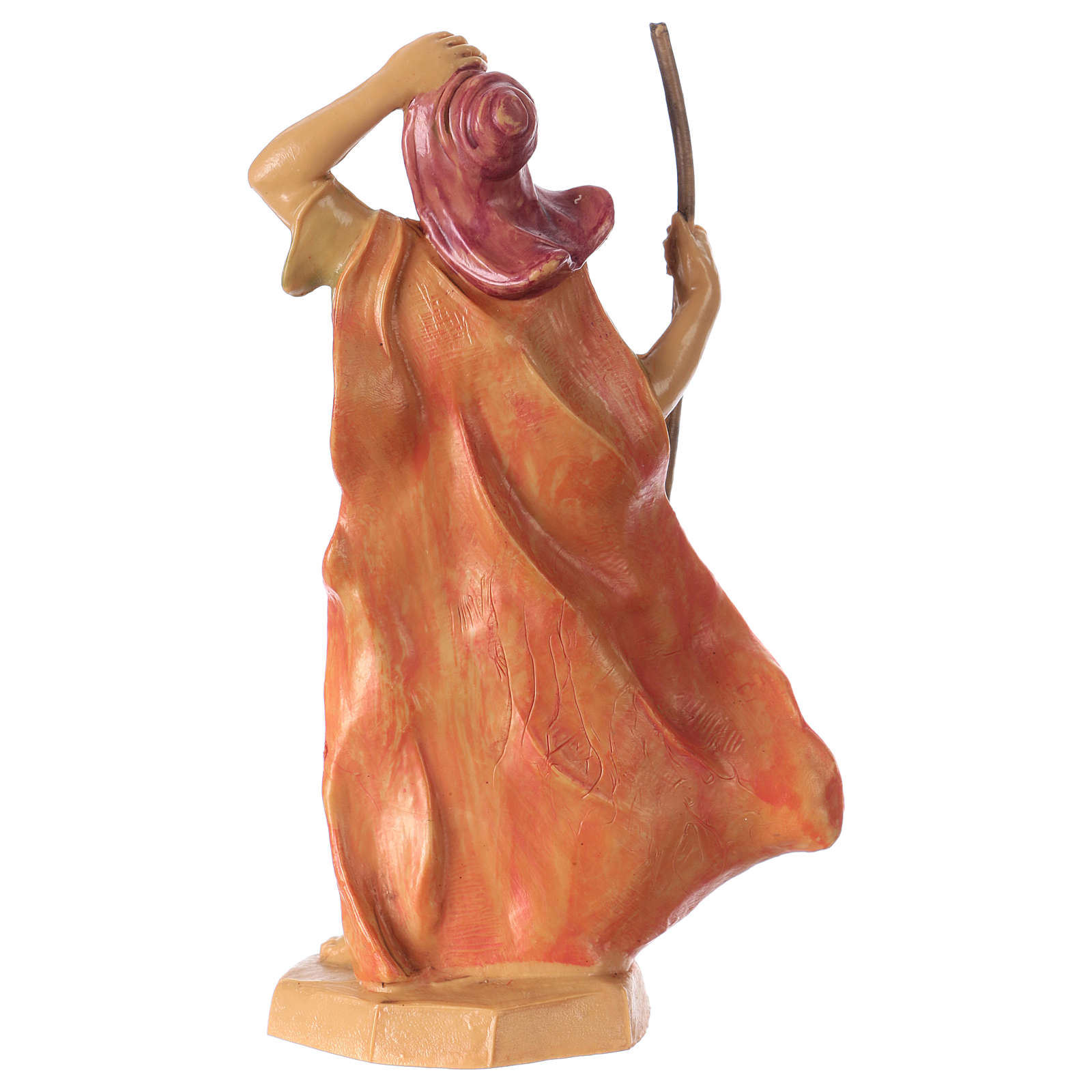 Man with stick 16 cm for Nativity Scene 3