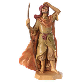 Man with stick 16 cm for Nativity Scene s1