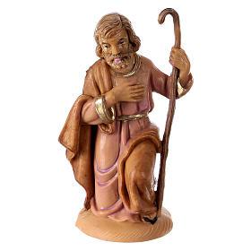 Statua San Giuseppe 10 cm per presepe s1