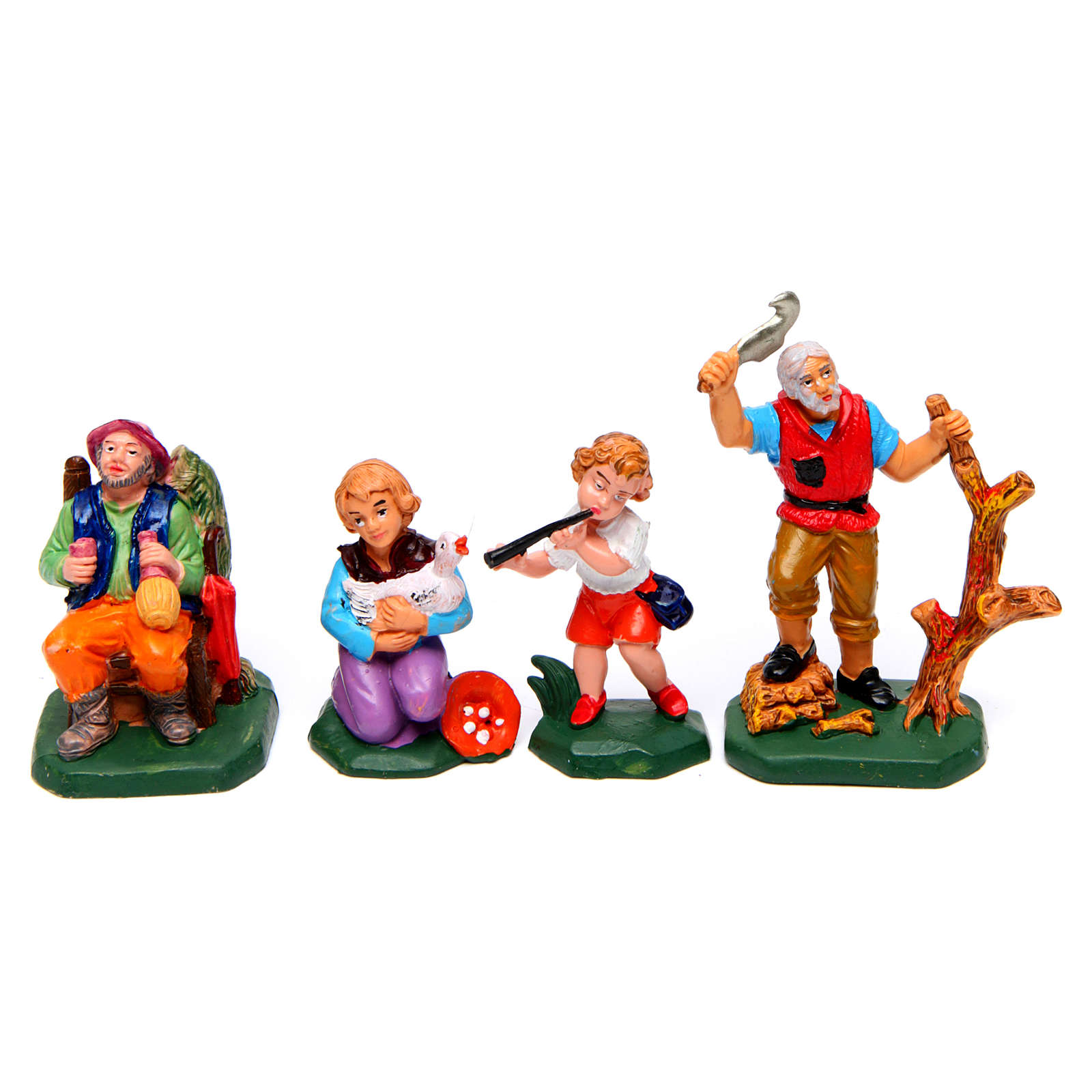 Figurines for Nativity Scene 8 cm, set of 19 3