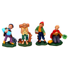 Figurines for Nativity Scene 8 cm, set of 19 s5