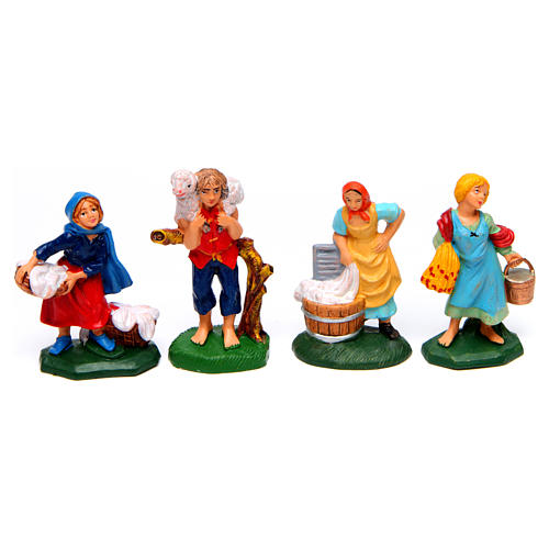 Figurines for Nativity Scene 8 cm, set of 19 4