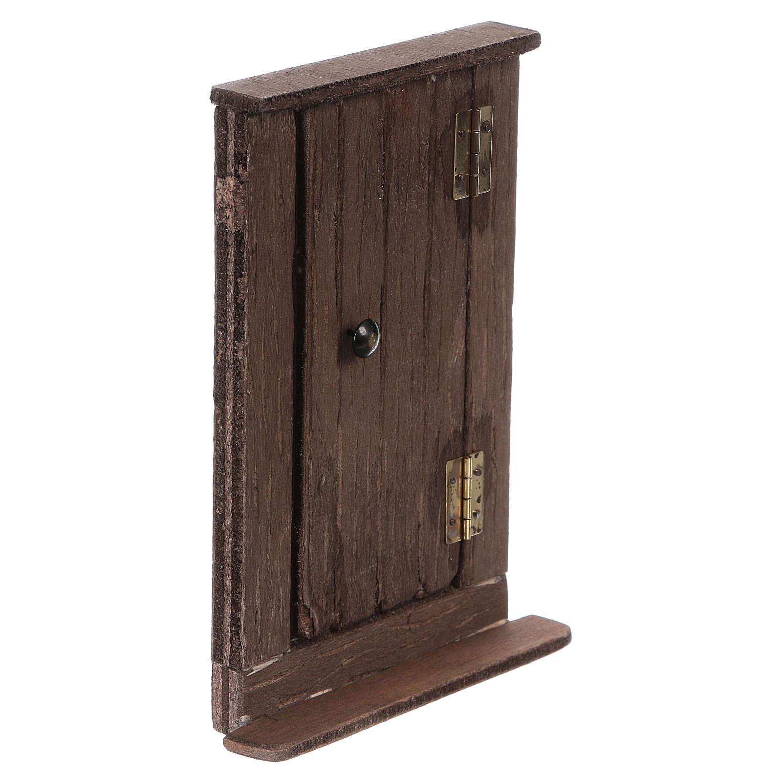Puerta de madera h real 15 cm belén napolitano 4