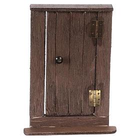 Puerta de madera h real 15 cm belén napolitano s1
