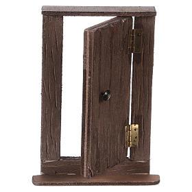 Puerta de madera h real 15 cm belén napolitano s2
