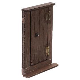 Puerta de madera h real 15 cm belén napolitano s4