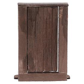 Puerta de madera h real 15 cm belén napolitano s5