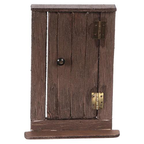 Puerta de madera h real 15 cm belén napolitano 1