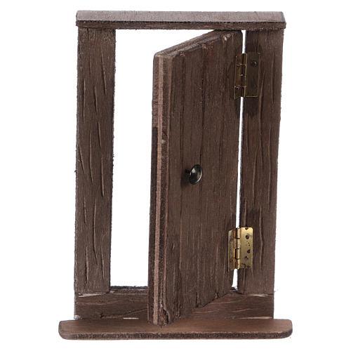 Puerta de madera h real 15 cm belén napolitano 2
