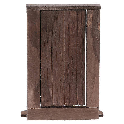 Puerta de madera h real 15 cm belén napolitano 5