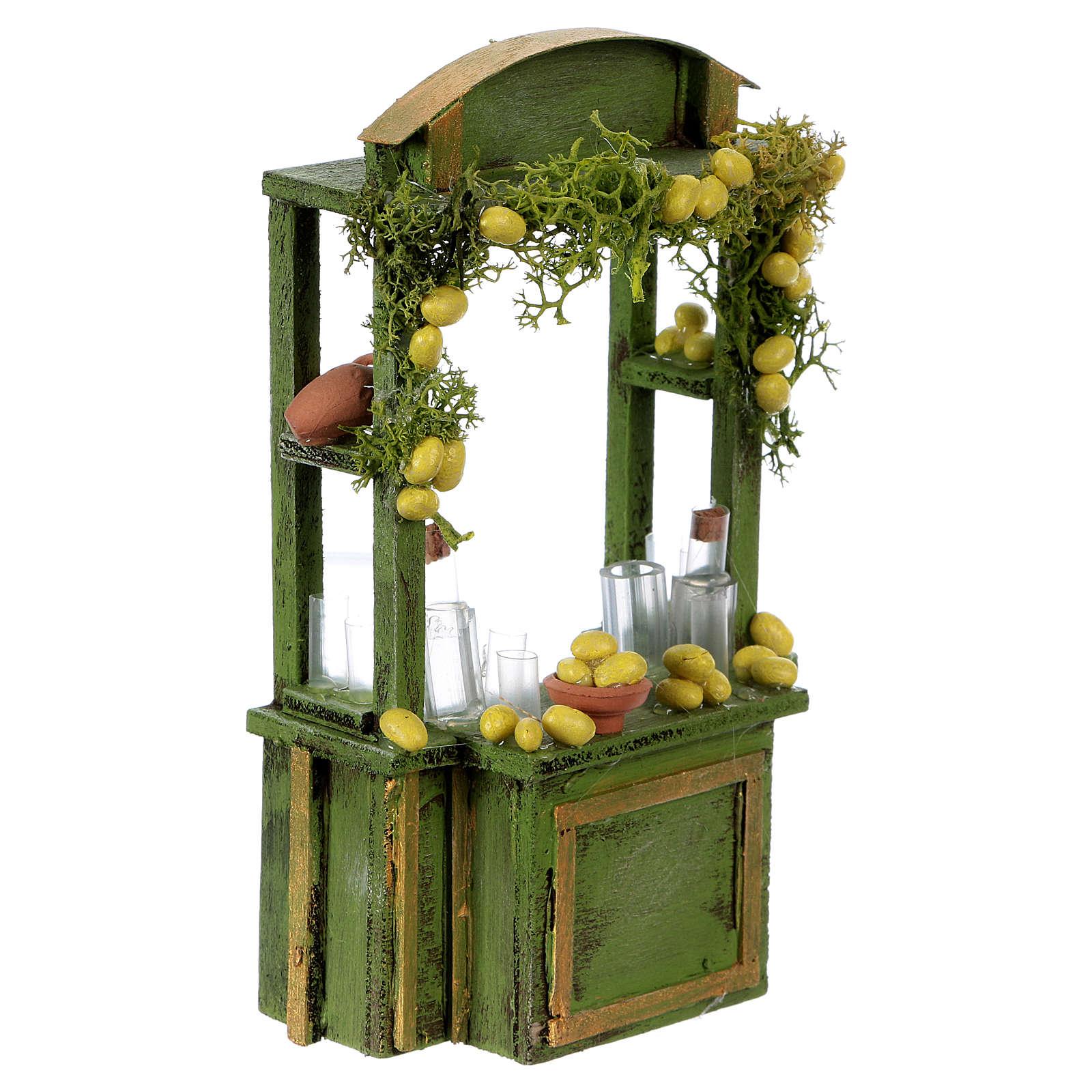 Lemonade stand for Neapolitan Nativity Scene 15 cm tall 4